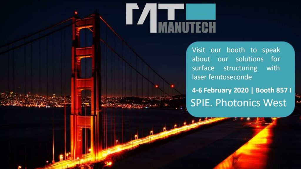 Manutech stand San Francisco World of Photonics